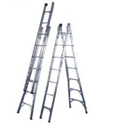Escaleras de aluminio extensibles transportes de paneles for Escaleras extensibles